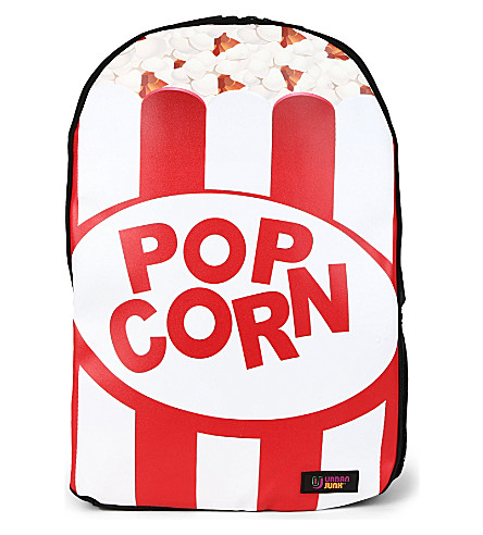 URBAN JUNK Popcorn print backpack (Popin'