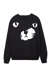 BLACK SCORE Black paw sweatshirt 2-12 years
