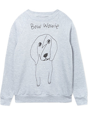 BLACK SCORE Bow Wowie sweatshirt 2-12 years