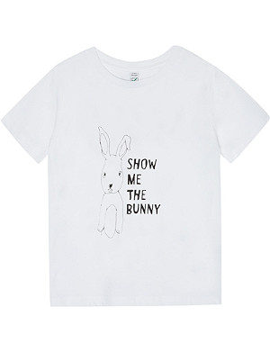 BLACK SCORE Show Me The Bunny t-shirt 3-12 years