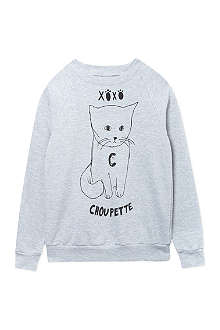 BLACK SCORE Choupette sweatshirt 2-12 years