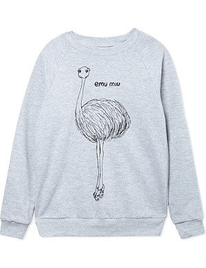 BLACK SCORE Emu Miu sweatshirt 2-12 years