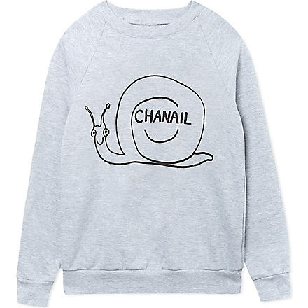 BLACK SCORE Chanail sweatshirt 2-12 years (Grey