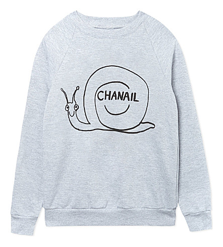 BLACK SCORE Chanail sweatshirt 2-12 years (Grey