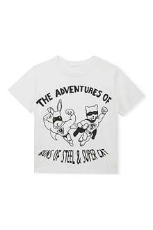 BLACK SCORE Buns of Steel cotton t-shirt 3-12 years