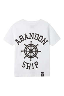 ABANDON SHIP Logo t-shirt 3-14 years