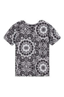 ABANDON SHIP Mandala short-sleeved t-shirt 3-14 years