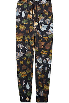 ABANDON SHIP Leaf print sweatpants 3-14 years