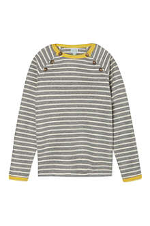 MINI A TURE Button front striped knit 2-8 years