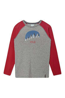 MINI A TURE Forest print long sleeved tee 2-8 years
