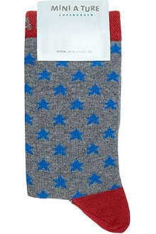 MINI A TURE Star pattern socks 2-8 years