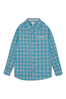 MINI A TURE Mini checked pocket detail shirt 2-8 years
