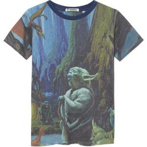 Yoda dagobah t-shirt 2-14 years