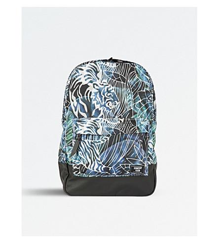 SOMEDAY SOON Jungle print shell backpack (Multi