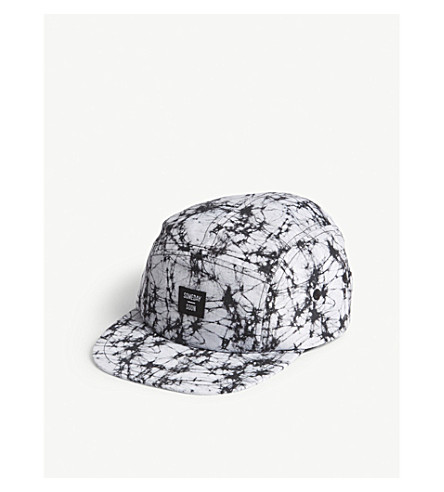 SOMEDAY SOON Electric print snapback cap (Grey