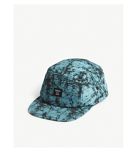 SOMETIME SOON Electric print snapback cap (Green