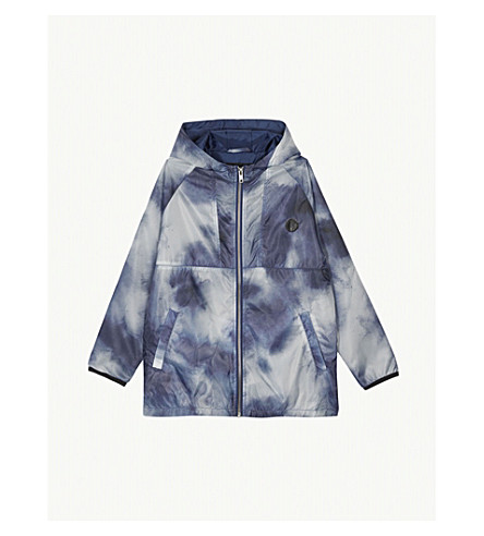 SOMETIME SOON Vertical windbreaker jacket 4-14 years (Blue