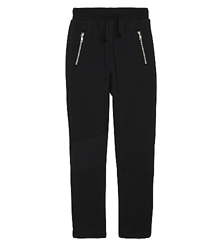 SOMEDAY SOON Anton cotton joggers 4-14 years (Black