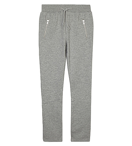 SOMEDAY SOON Anton cotton joggers 4-14 years (Grey+melange