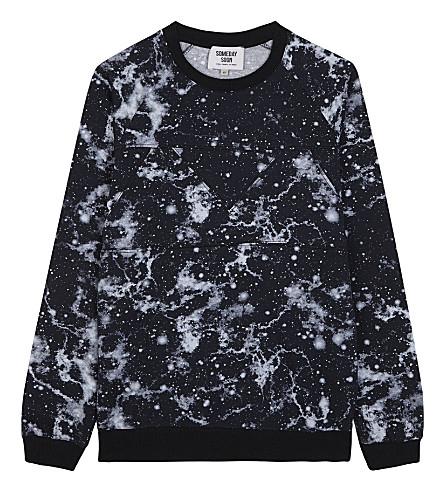 SOMEDAY SOON Constellation print cotton sweatshirt 4-14 years (Ace
