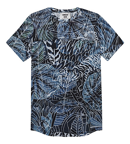SOMETIME SOON Jungle cotton T-shirt 4-14 years (Multi