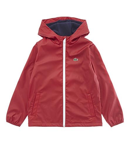 LACOSTE Hooded raincoat 4-16 years (Ladybird