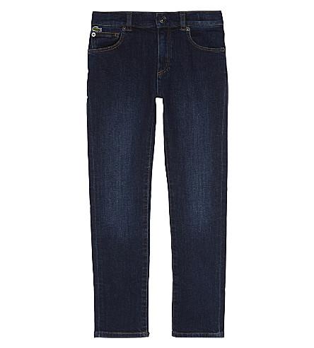 LACOSTE Crocodile denim jeans 4-16 years (Medium