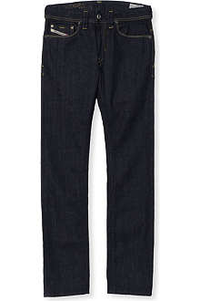 DIESEL Thanaz slim-fit raw denim jeans 4-16 years
