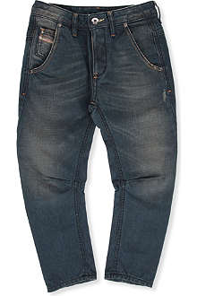 DIESEL Profyx curved-leg denim jeans 6-16 years