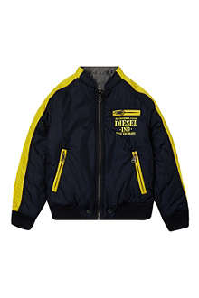 DIESEL Reversible baseball jacket 4-16 years