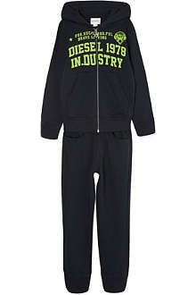 DIESEL Logo front tracksuit 4-16 years