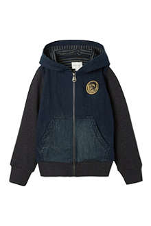 DIESEL Denim hooded jacket 4-16 years