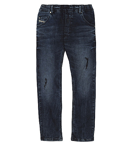 DIESEL Krooley slim-fit drawstring jeans 8-16 years (Denim