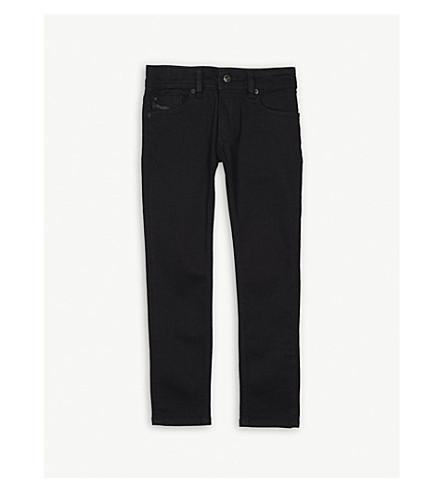 DIESEL Sleenker J-N skinny denim jeans 4-16 years (Black+denim