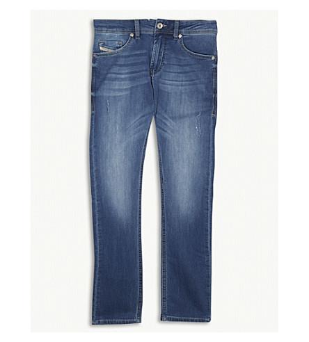 DIESEL Thommer-J mid-wash jeans 4-16 years (Denim