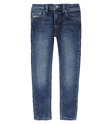 DIESEL Sleenker slim-fit denim jeans 4-6 years (Denim