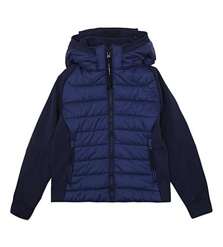 CP COMPANY Padded goggle jacket 4-14 years (Navy