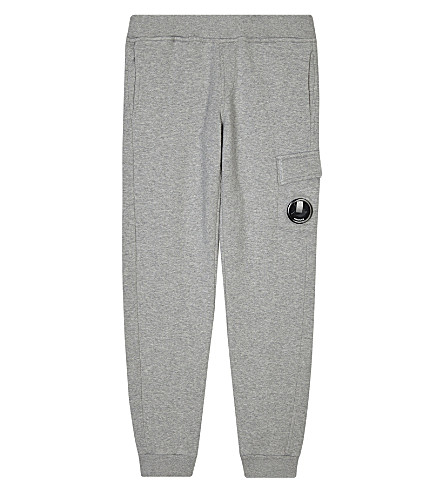 CP COMPANY Lens detail tracksuit bottoms 4-14 years (Grey