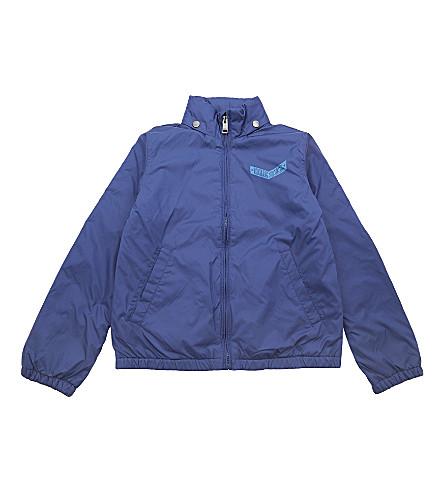 DIESEL Hooded windbreaker jacket 4-16 years (Twilight+blue