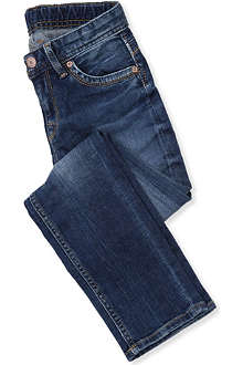 PEPE JEANS LONDON Cashed slim straight-leg jeans 4-16 years