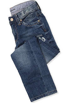 PEPE JEANS LONDON Condor slim straight-leg jeans 4-16 years