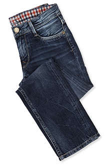 PEPE JEANS LONDON Emerick slim straight-leg jeans 4-16 years