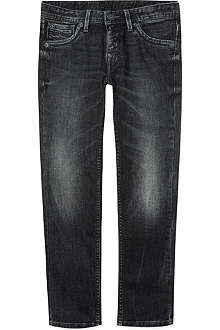 PEPE JEANS LONDON Cashed denim jeans 8-16 years
