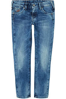 PEPE JEANS LONDON Vipe stone wash jeans 8-16 years