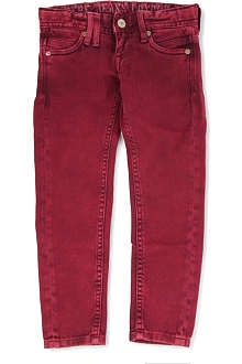 PEPE JEANS LONDON Rayner over-dyed skinny jeans 4-16 years