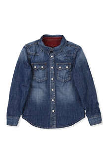 PEPE JEANS LONDON Kurtis denim shirt 4-16 years