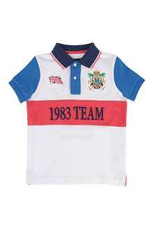 HACKETT 1983 Team polo shirt 2-10 years