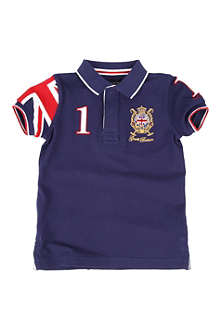 HACKETT Union Jack polo shirt 2-10 years