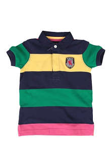 HACKETT Striped polo shirt 2-10 years