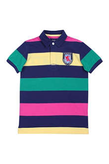 HACKETT Striped polo shirt 11-16 years